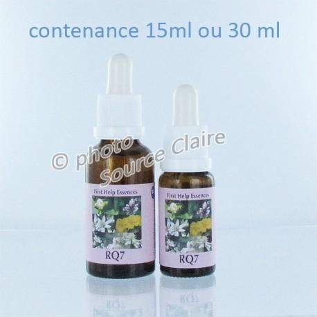 RQ7 Remède d'urgence aux 7 fleurs*