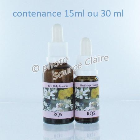 RQ5 Remède d'urgence des 5 fleurs*