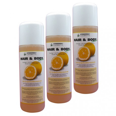 Lot de 3 Hair and Body Lemongrass