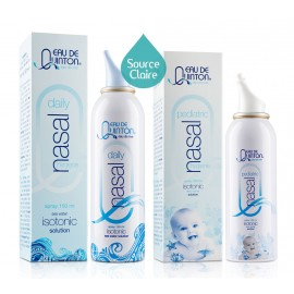 SET EAU DE MER Quinton Sprays nasals ISO