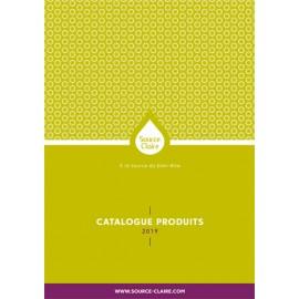 Catalogue produits Source Claire 2019