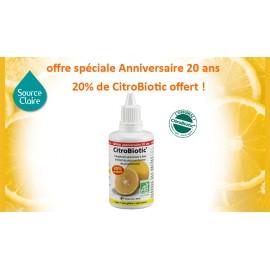 CitroBiotic ® liquide 20% offerts