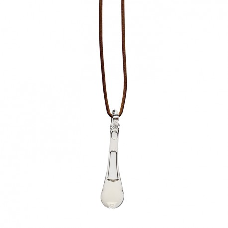 Adult E pendant clear glass