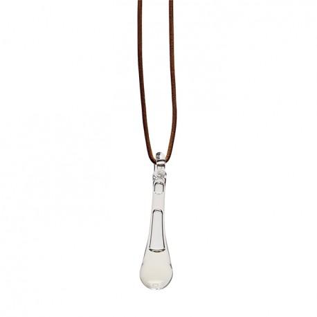 Adult E pendant clear glass