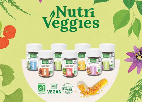 Nutriveggies compléments alimentaires