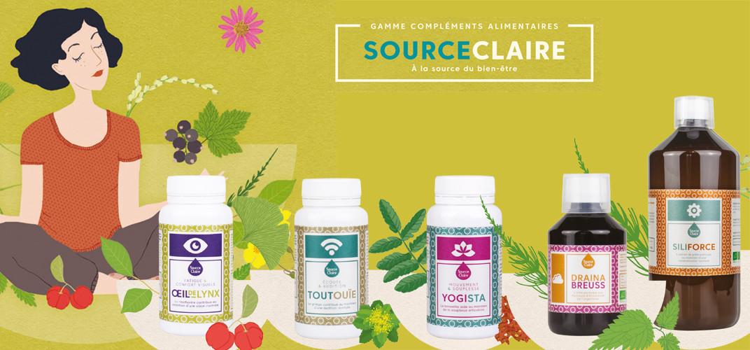 Source Claire Compléments Alimentaires