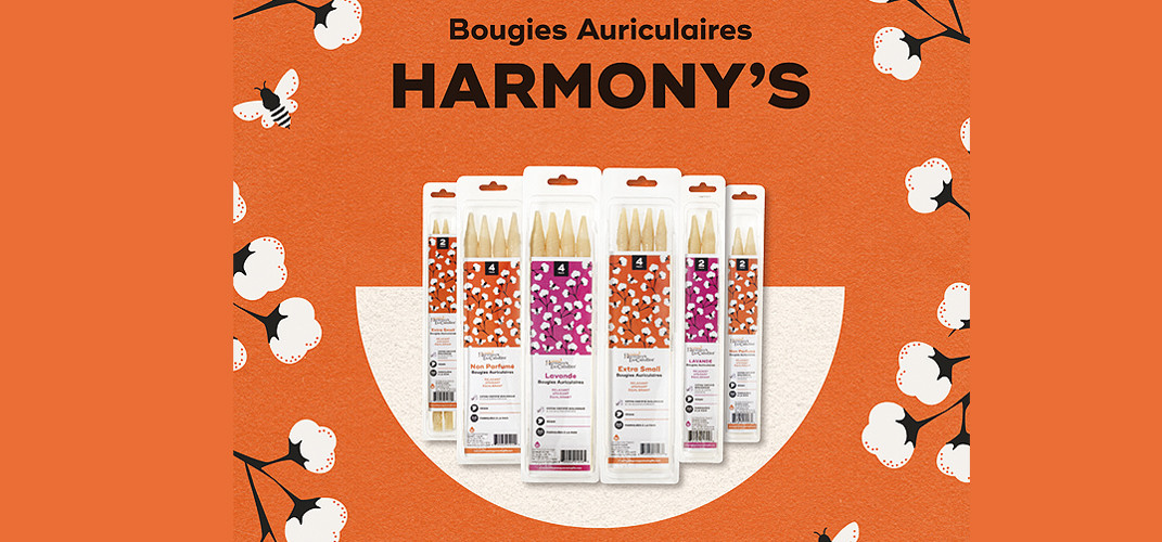 Harmony's Bougies auriculaires