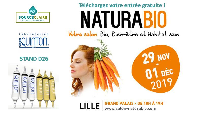 salon naturabio Lille 2019