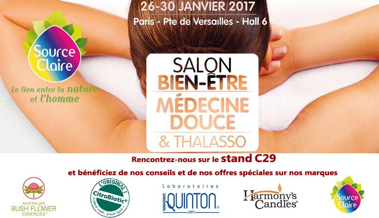 Salons source claire distributeur bush abfe - Salon medecine douce ...